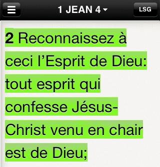 1 Jean 4:2