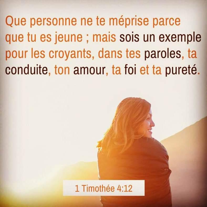 1 Timothée 4:12