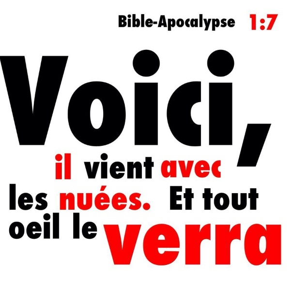 Apocalypse 1:7