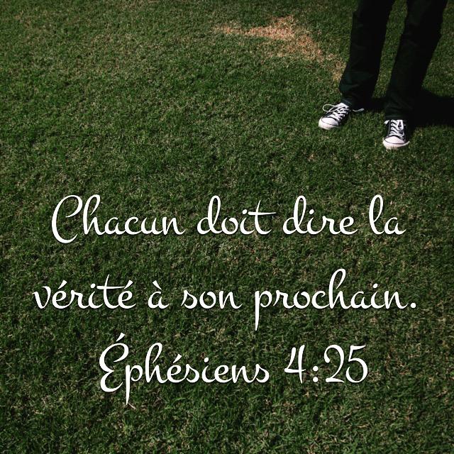 Ephésiens 4:25