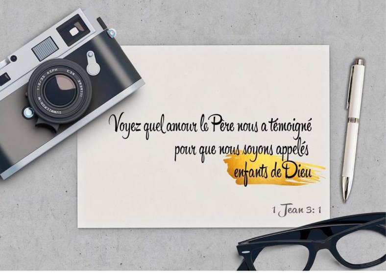 1 Jean 3:1