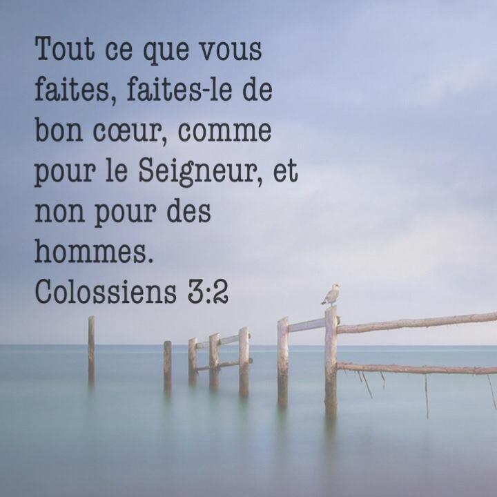 Colossiens 3:2