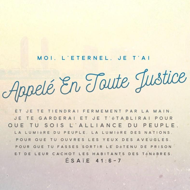Esaïe 41: 6-7
