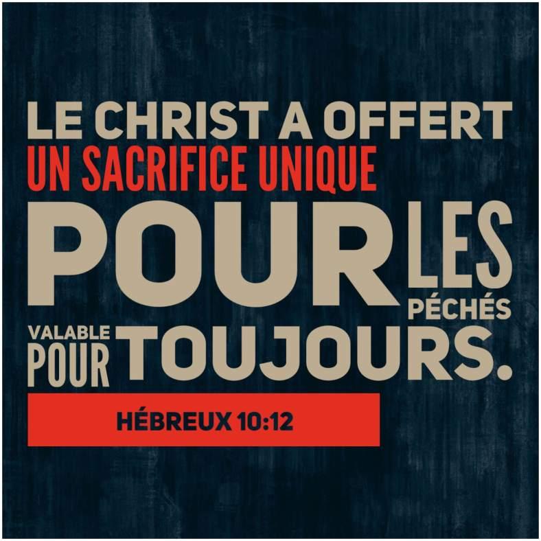Hébreux 10:12