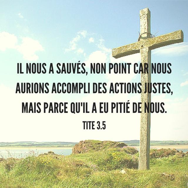 Tite 3:5