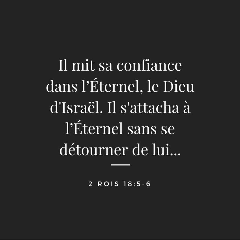 2 Rois 18:5-6