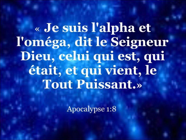 Apocalypse 1:8