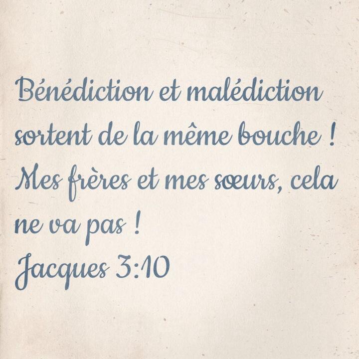 Jacques 3:10