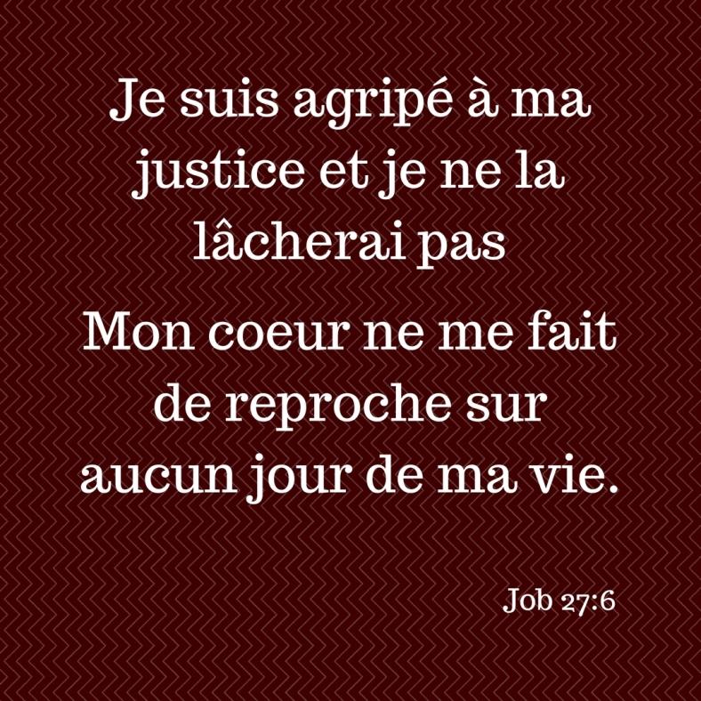 Job 27:6