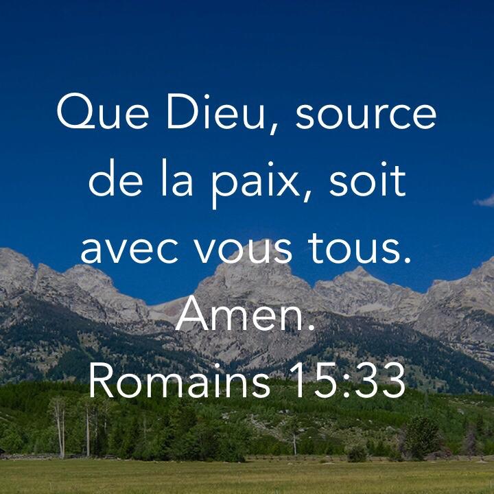 Romains 15:33