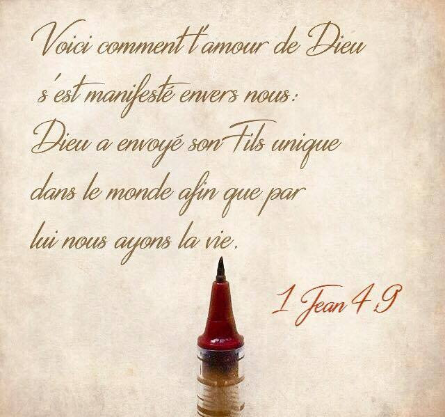 1 Jean 4:9