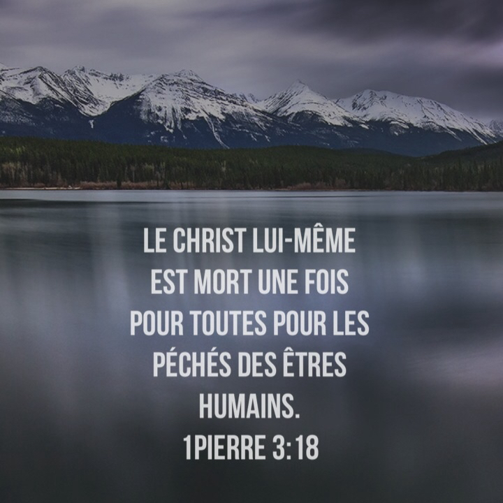 1 Pierre 3:18