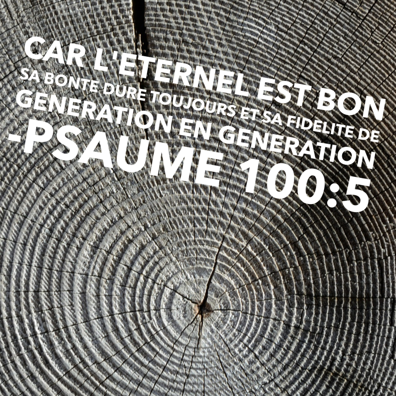 Psaume 100:5