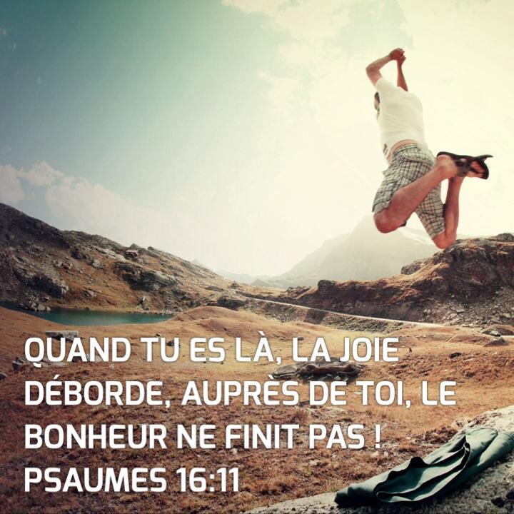 Psaume 16:11
