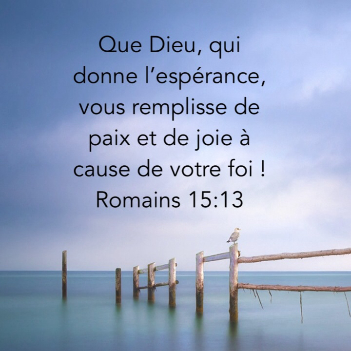 Souvent Rempli de joie ! | 1001 versets AE32