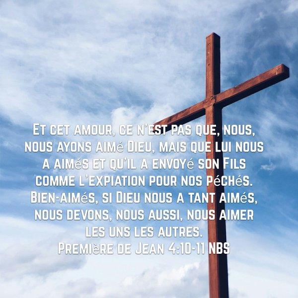 1 Jean 4:10-11