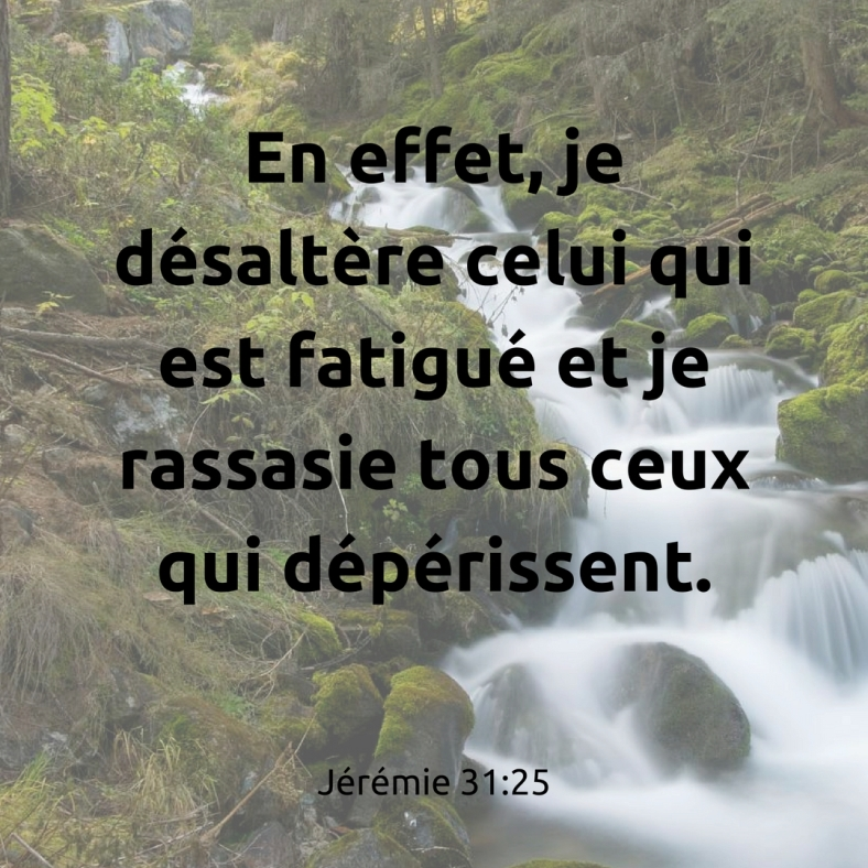 Jérémie 31:25