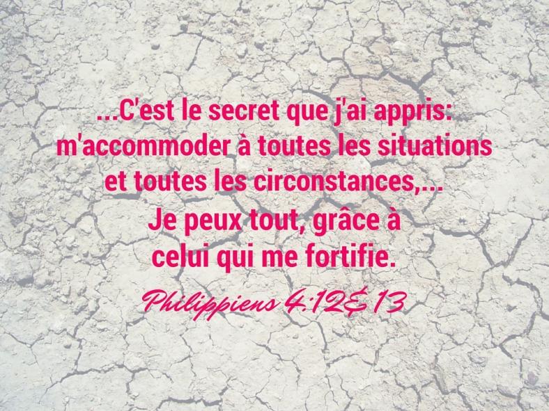 Philippiens 4:12,13