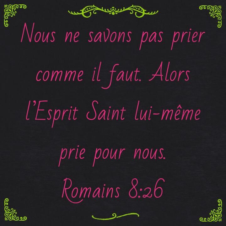 Romains 8:26
