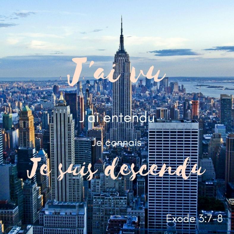 Exode 3:7-8