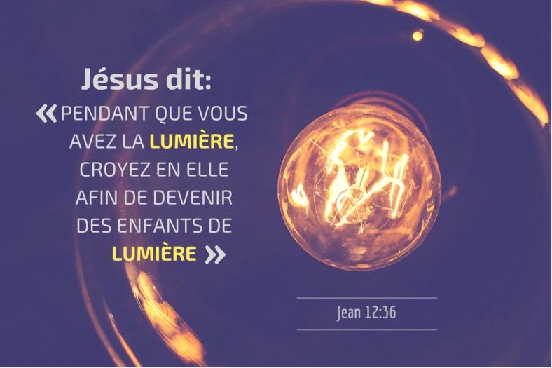 Jean 12:36