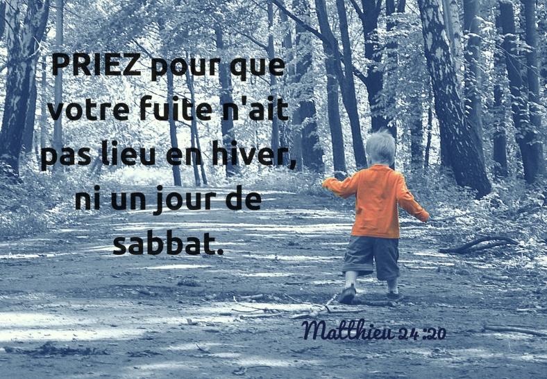 Matthieu 24:20