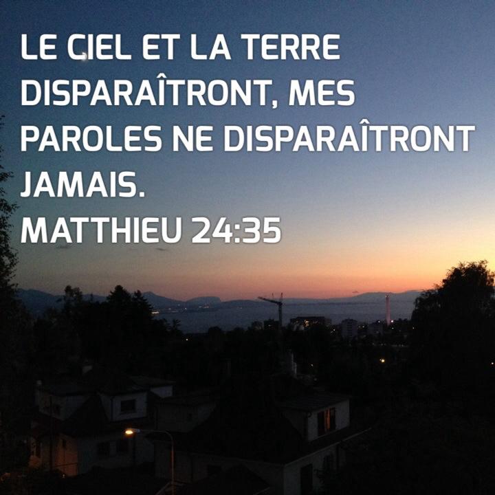 Matthieu 24:35
