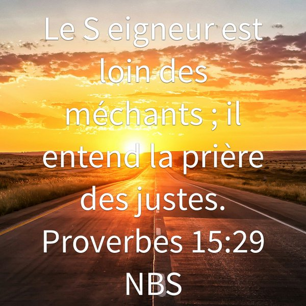 Proverbes 15:29