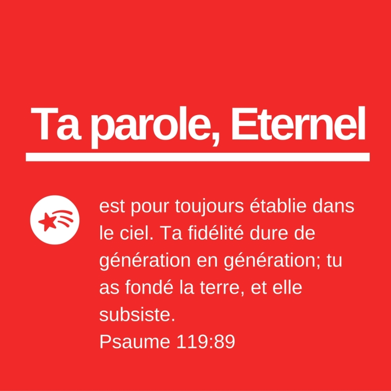 Psaume 119:89