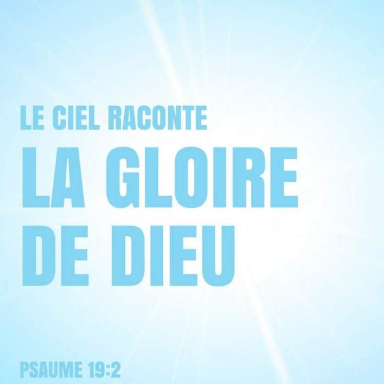 Psaume 19:2