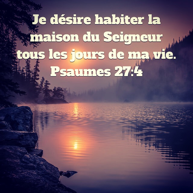 Psaume 27:4