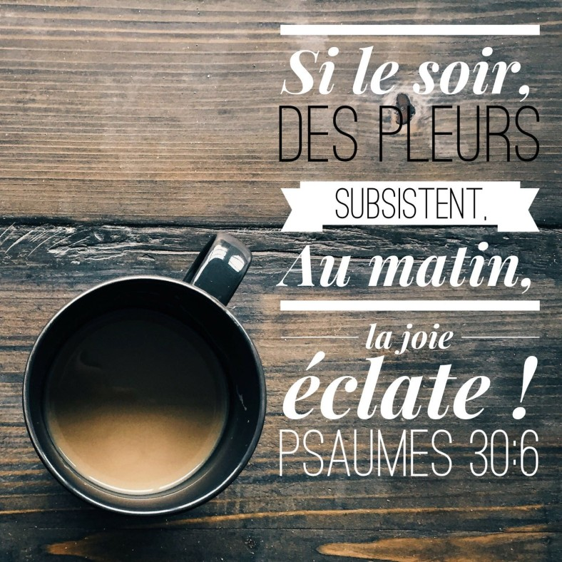 Psaume 30:6