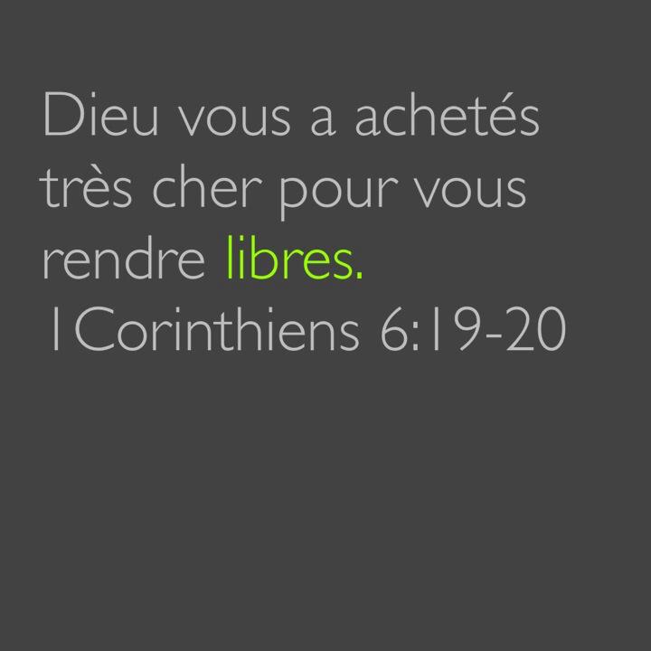 1 Corinthiens 6:19-20