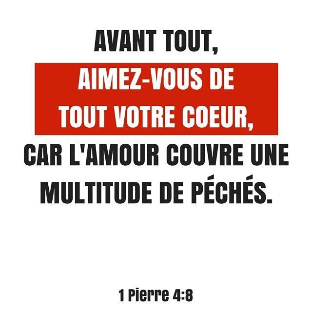1 Pierre 4:8