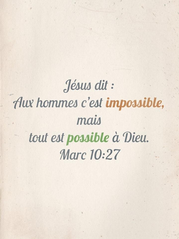 Marc 10:27