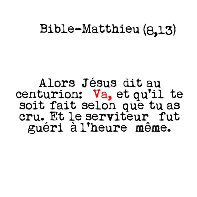 Matthieu 8:13