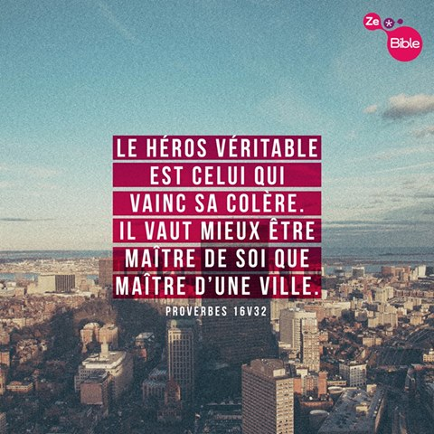 Proverbes 16:32