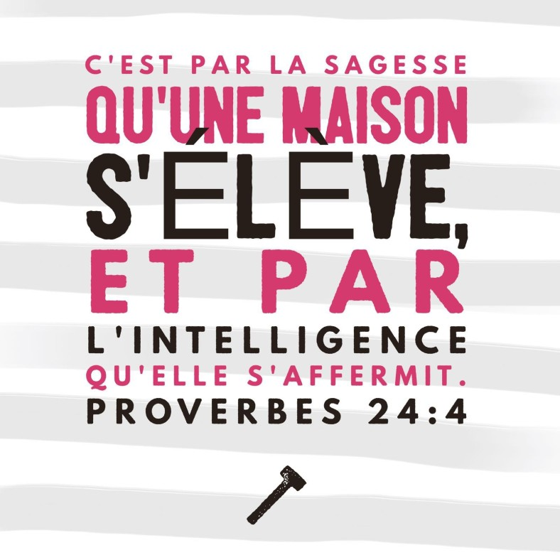Proverbes 24:4