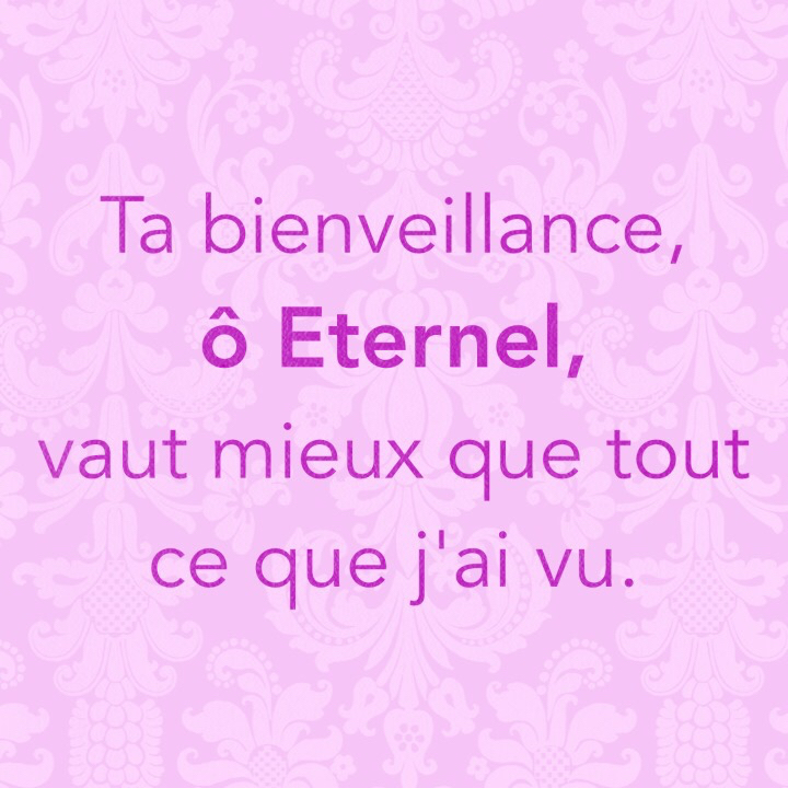 citation - Ta bienveillance
