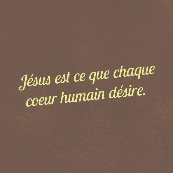 Citation - Jésus est