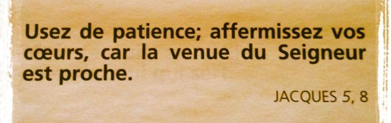 Jacques 5:8