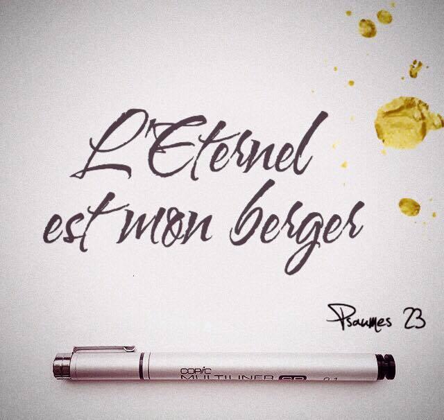 Psaume 23:1