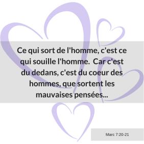 coeur, pensées, Marc