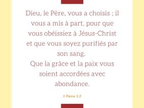 Dieu, choisis, obéir