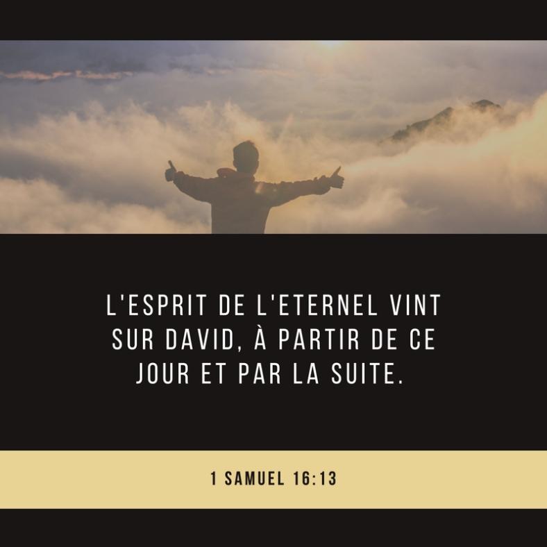 Esprit, David, temps