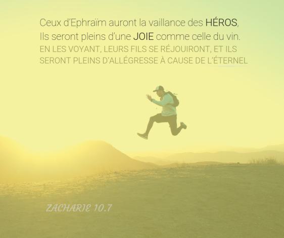Héros, joie