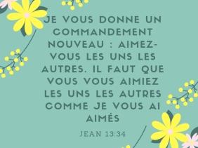 aimer, commandement, nouveau