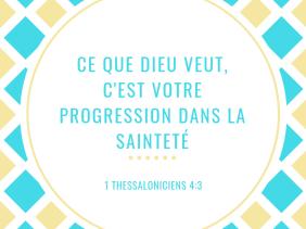 volonté, Dieu, progresser