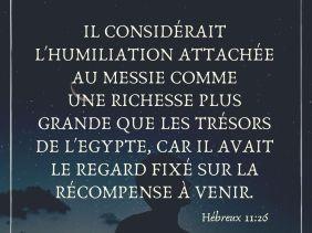 Hébreux 11:26